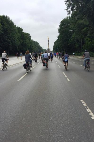 Fahrradsternfahrt 2018 Berlin
